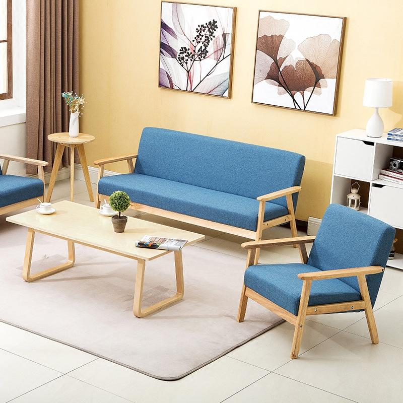 田园客厅小户型沙发