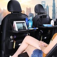 汽车座椅靠背收纳袋挂袋车载多功能椅背餐桌置物袋车内饰用品超市