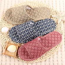 Japanese fabric cloth fabric slippery wooden floor mute indoor soft bottom winter female machine washable cotton home summer season