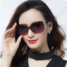 3760f4d95e 2018 new polarized sunglasses round face ladies sunglasses female tide star  models UV glasses large face
