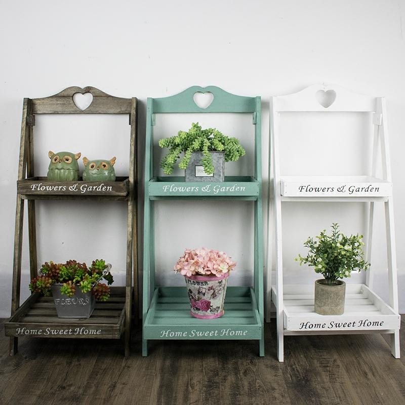 美式木质花架