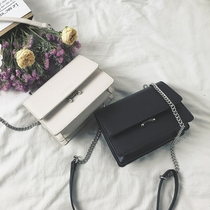 INS Super fire retro chain Bag woman 2019 spring and summer new Korean version hundred ride Small square packets shoulder crossbody bag