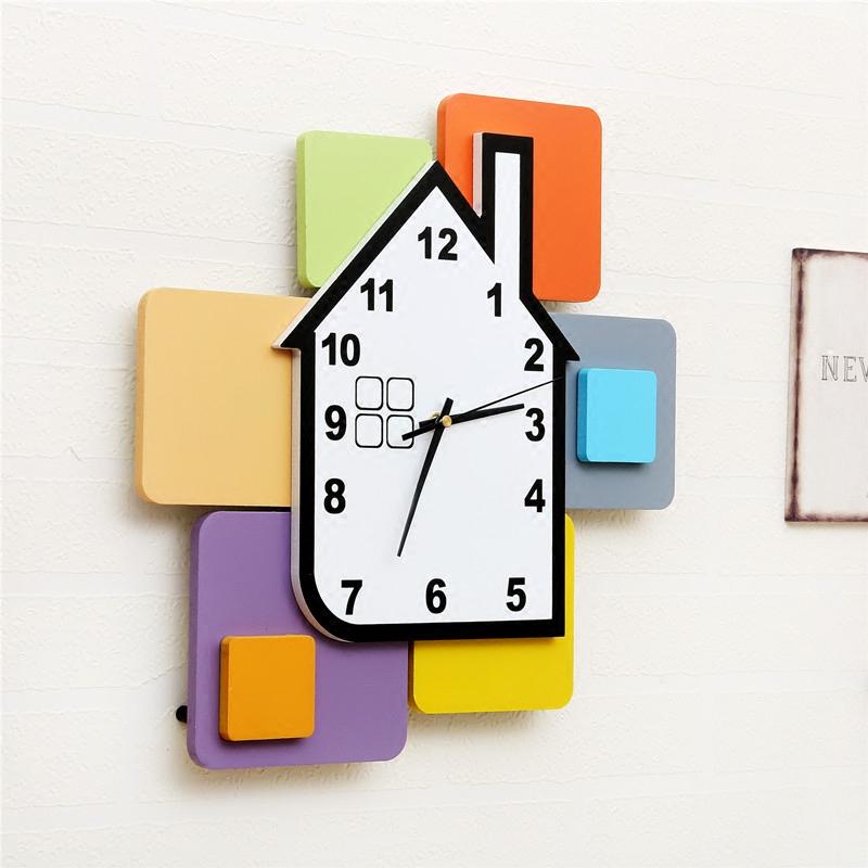 儿童房创意挂表钟