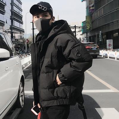 冬季羽绒服男2018新款韩版潮流冬装潮款帅气短款学生加厚保暖外套