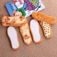{5 pairs} winter new children's thick warm insoles boys and girls deodorant sweat-absorbent plus velvet cotton insoles