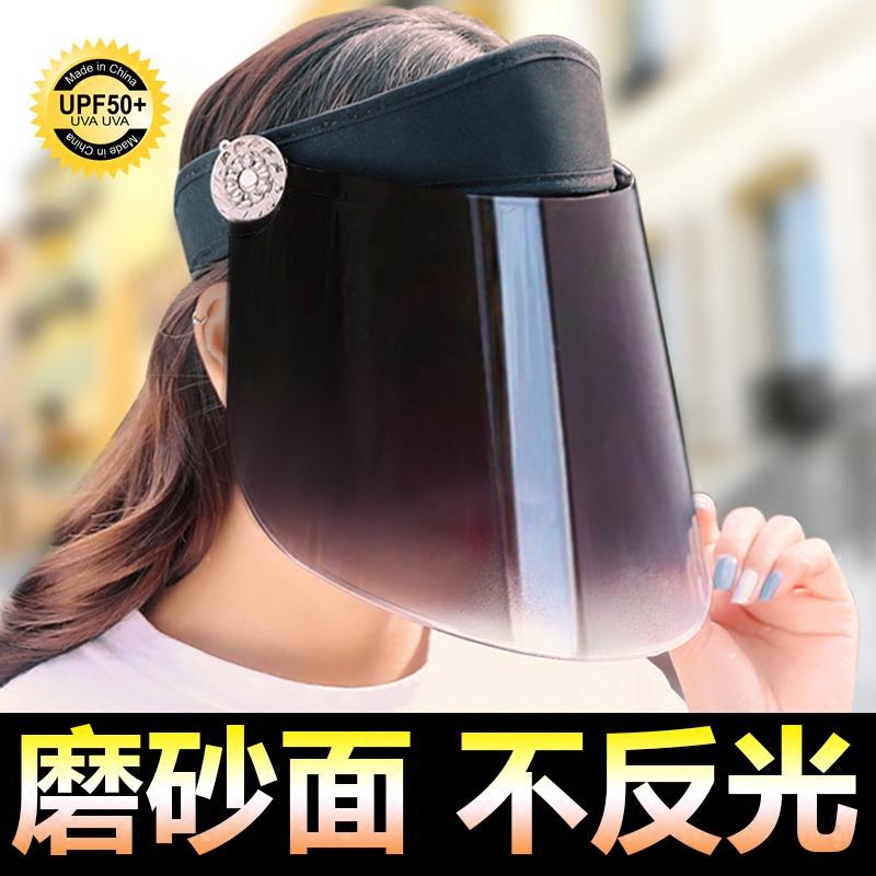 女士遮阳帽防紫外线户外