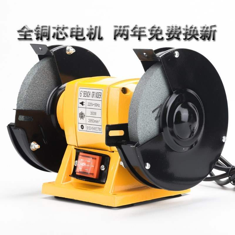 Anti-cutting gloves straight-line moving bearing hand with a steel saw blade wire brush chainsaw grinding wheel bench small machine