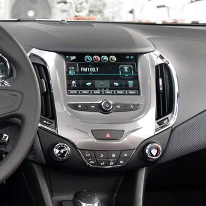 17款18款全新科鲁兹倒车影像摄像头原车屏影像显示画面