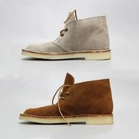 枯骨originals desert boot英伦复古生胶底反绒牛皮短靴沙漠靴男