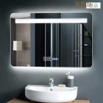 浴室镜智能蓝牙防雾卫浴灯镜卫生间洗手化妆镜子led壁挂Yishare