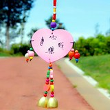 Wind Bell Hanging Door Decoration Creative Home Living Room Girls Girls Gifts Ring Hanging Parts Scenic Area Hot Selling Jewelry