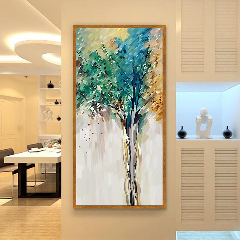 墙面挂画抽象
