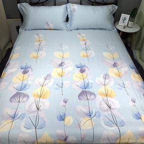 春夏双面纯天丝麻四件套冰丝1.8米床单4件套被套1.5床笠床上用品