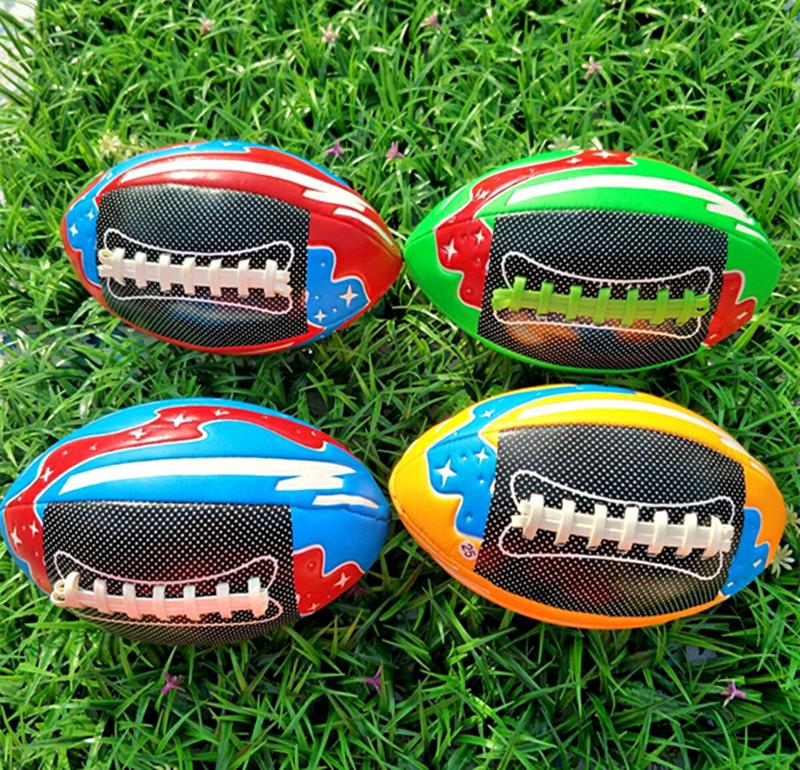 热销3号美式pu橄榄球高端软皮橄榄球幼儿园儿童青少年教学训练手