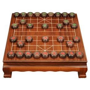 热销象棋套装草花梨全实木象棋桌5分实木棋子搭配套装tx608