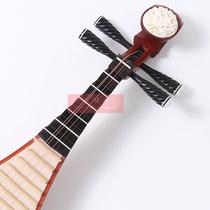 初学练习琴送弦包指甲民族弹拨乐器黑檀轴花梨大人琵琶清水抛光