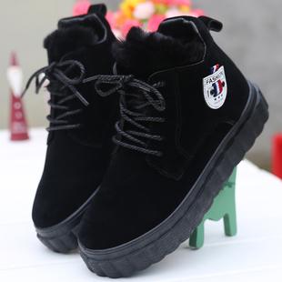 暢銷亮久久馬丁靴女鞋學生韓版百搭雪地靴子棉鞋女棉靴冬季毛毛靴
