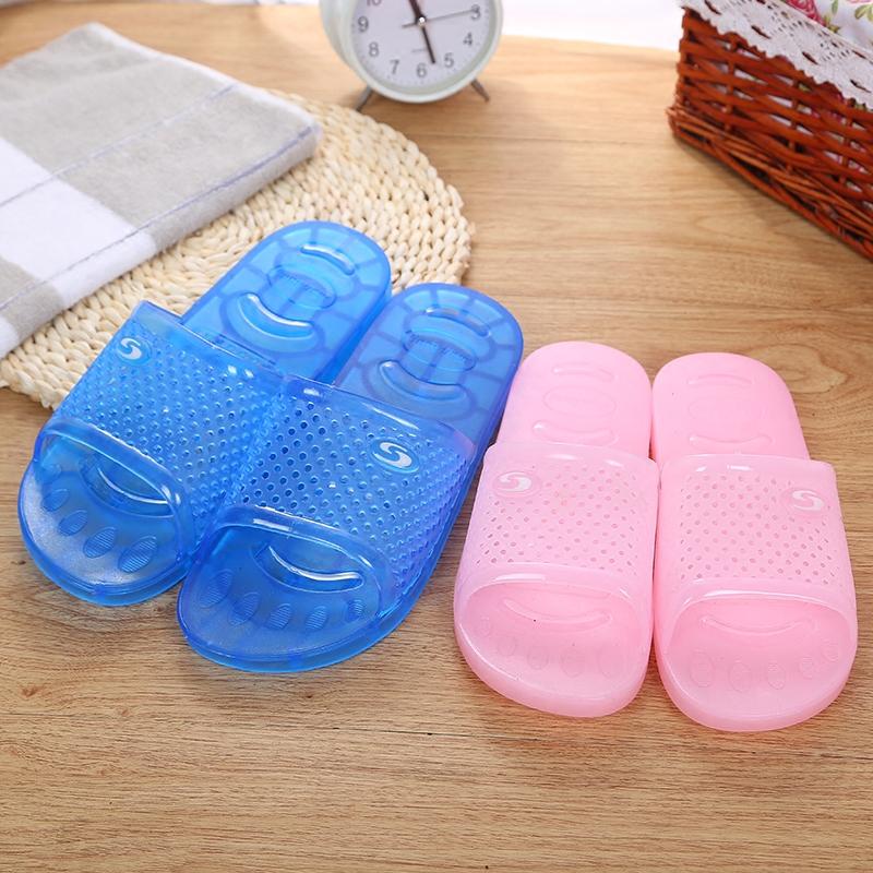 水晶果冻凉拖鞋