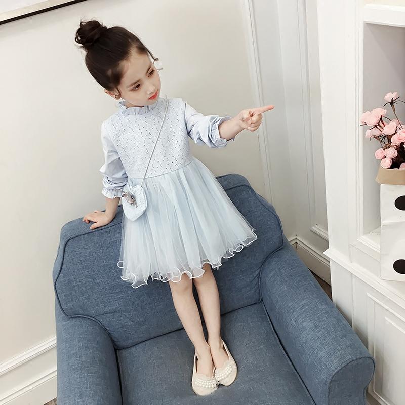 女童春装连衣裙长袖