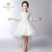 儿童婚礼公主裙