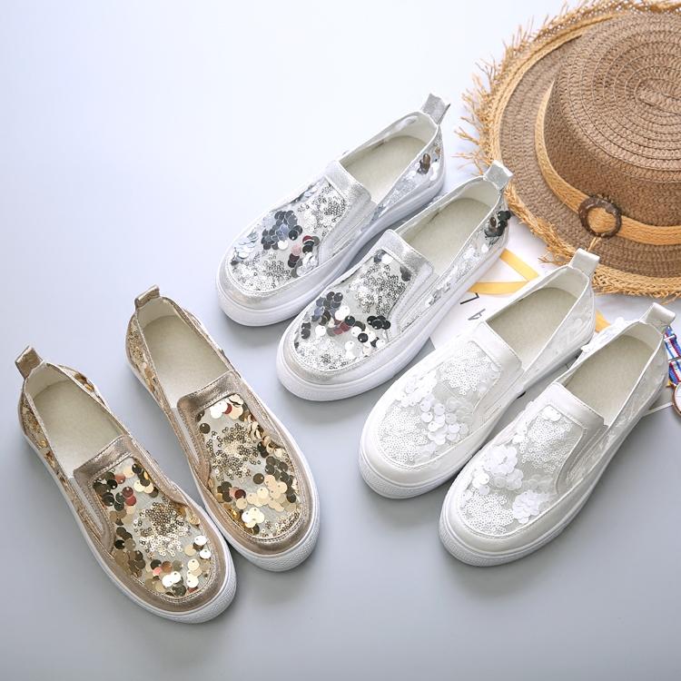 夏季厚底女鞋懒人鞋