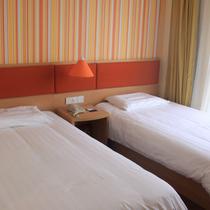 如家酒店-张家港长安南路店单人床