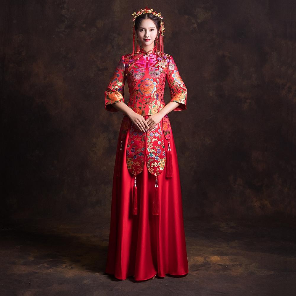 结婚旗袍定做