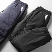 时髦高端加厚保暖羽绒裤 小脚卫裤 冬季修身 外穿羽绒裤 御寒抗冷