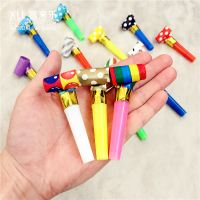 Children's birthday party creative blowing dragon toy baby birthday to help blow blowing volume funny whistle speaker gift