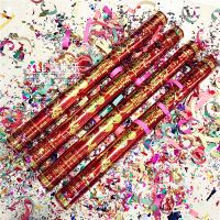 Wedding supplies knot wedding cannon hand-held ribbons protocol flower wedding props celebration rose fireworks tube party props