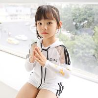 Children's ice sleeves summer sunscreen cuffs men and women baby sleeves baby arm sleeves kids cartoon ice silk sleeves
