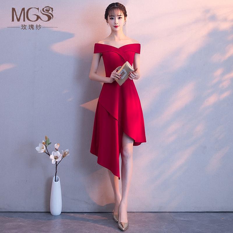 玫瑰纱MGS0396新娘礼服