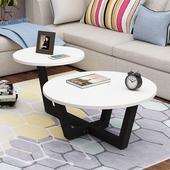 北欧茶几现代简约小户型圆形迷你小桌子客厅经济创意圆桌边几角几