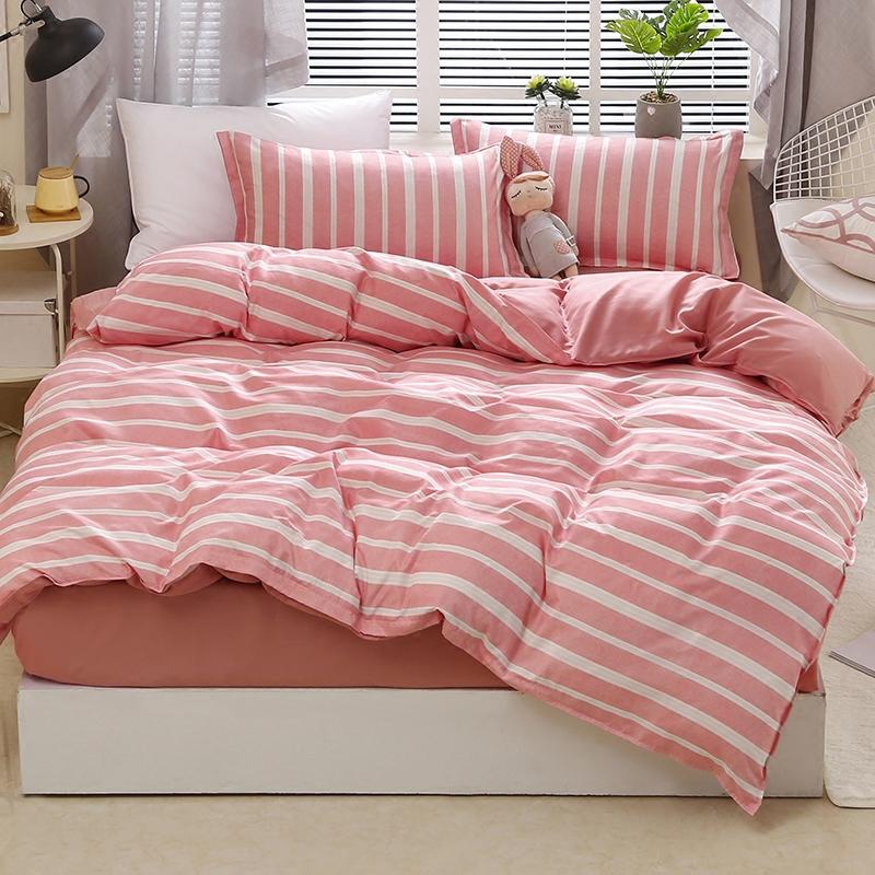 纯棉学生宿舍被套床单三件套