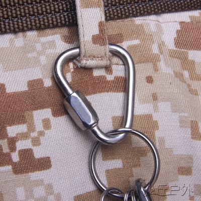 不锈钢三角锁扣三角形链接扣 挂扣安全扣三角锁梅陇锁 沙丘户外