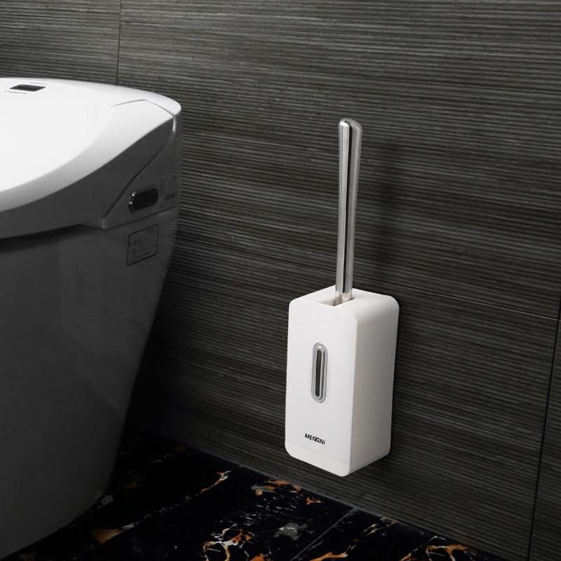 马桶刷套装洁厕所刷创意免打孔卫生间坐便器刷子软毛死角无吸壁式