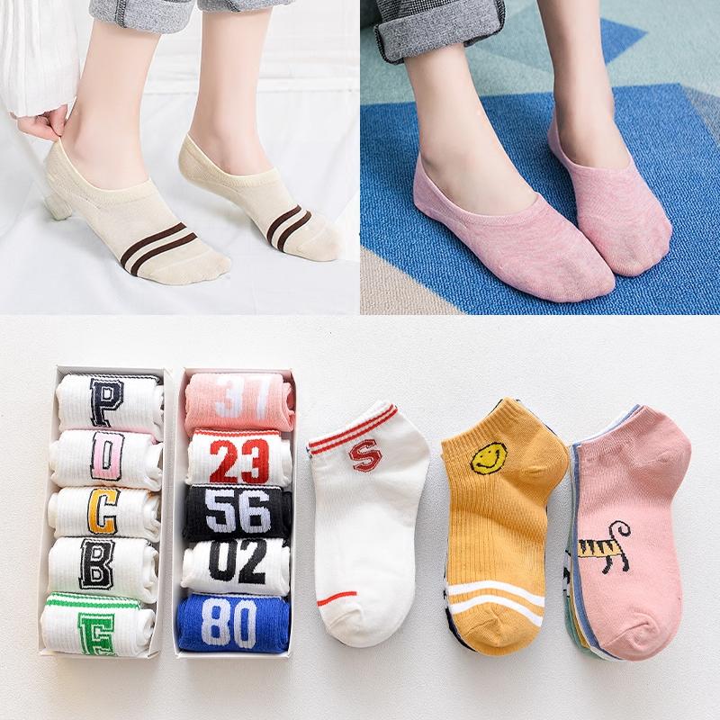 船袜女袜子女短袜纯棉浅口隐形韩国可爱硅胶防滑不掉跟夏季薄款天图片
