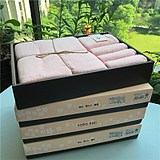 Best-selling Japanese yodo xiui bath towel towel square towel three-piece gift box wedding gift back business gift