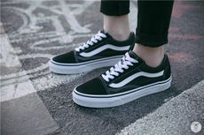 5c0d92f4686801 Master s home Vans old skool os black and white classic canvas shoes men s  shoes women s shoes