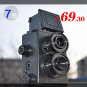 Authentic Adult Science Vol.25 DIY Retro Double Reverse LOMO Camera Creative Birthday Gift