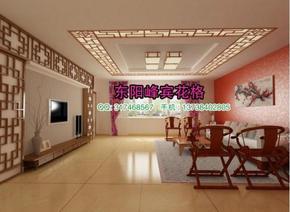 东阳木雕中式实木雕花板隔断屏风 榆木镂空吊顶背景墙玄关密度板