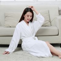Cotton thick towel towel bathrobe hotel couple robe men and women XL absorbent bathrobes thin summer autumn and winter custom-made