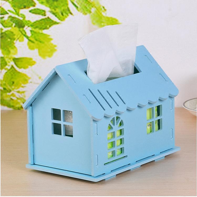 diy纸盒小屋