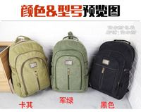 60 liters large capacity canvas backpack men's retro sports travel bag hiking outdoor travel backpack student bag