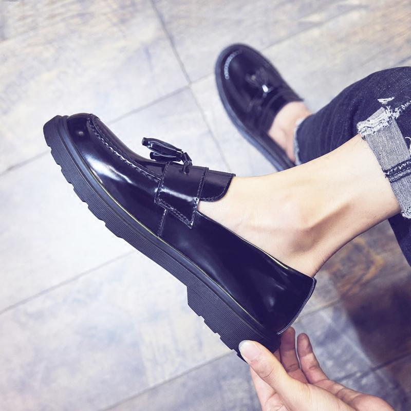 夏季韩版圆头日常休闲男鞋