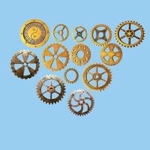 美式工业风金色齿轮壁饰壁挂酒吧KTV网咖美容会所艺术墙面装饰品