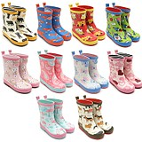 Korea has four seasons apply cute cartoon animal children rain boots kindergarten boys and girls non-slip baby rain boots