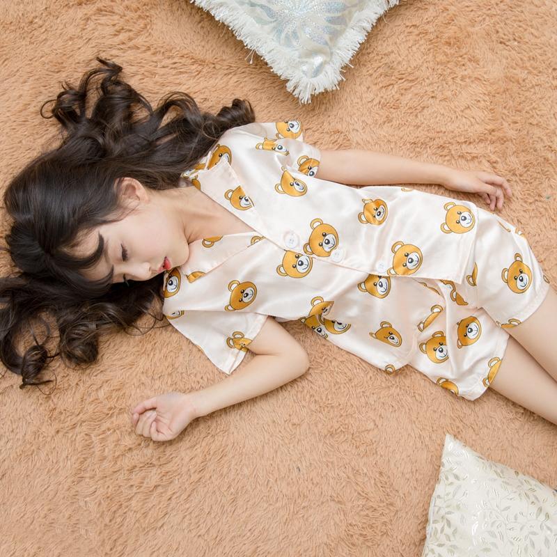 小熊儿童睡衣