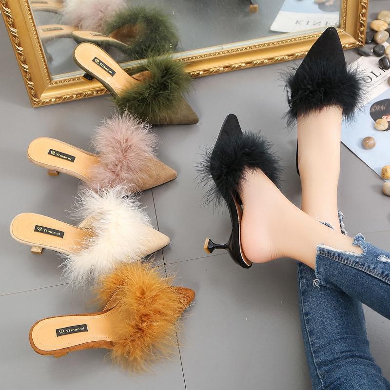 时尚包头女鞋