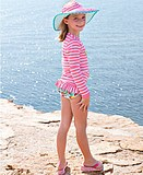 Ger's Spot American Genuine Ruffle Butts Baby Kids Sun Hat Swimsuit Hat